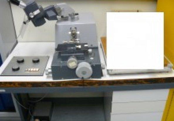 Leica Reichert Om-U3 Ultramicrotome