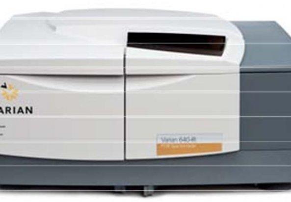 Varian 640 IR Fourier Transform Infrared Spectroscopy (FTIR) Fourier Transform Infrared Spectrometer (FTIR)