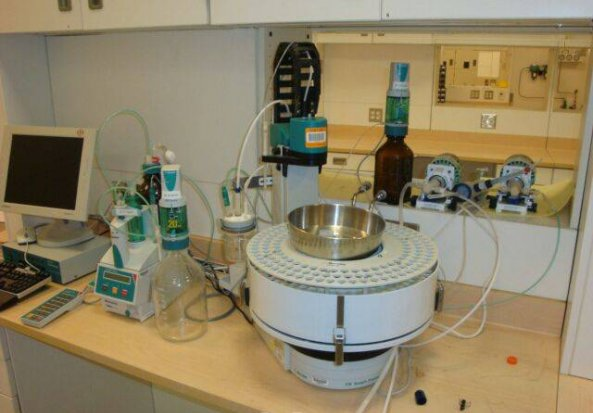 Metrohm Sample Processor 778 Robotic pH Titrator
