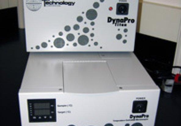Wyatt Dynamo Titan Dynamic Light Scattering (DLS). Nanoparticle analyser
