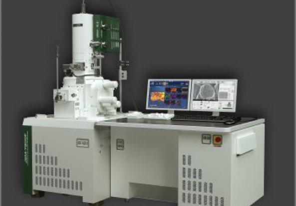 Field Emission Scanning Electron Microscope (FE-SEM)  with cathodoluminescene spectrometer JSM-7800F  Electron microscope