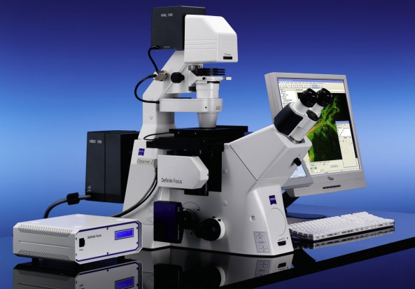 Zeiss Cell Observer Live Imaging System, Axiovert 200M Complete System  Inverted Motorised Microscope