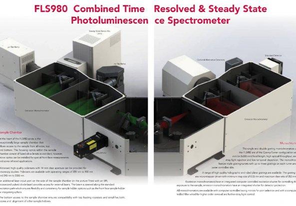 Tuneable-laser based time-resolved fluorescence spectrophotometer FLS980