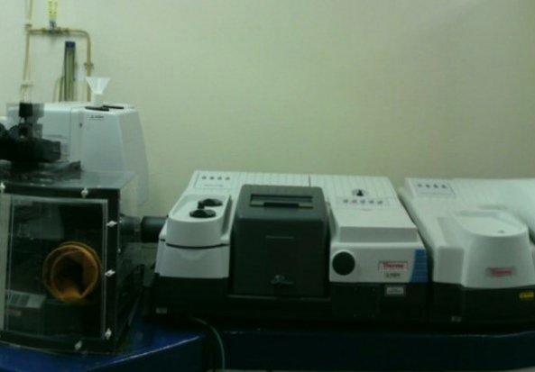 Thermo Fischer Nexus 6700 FTIR spectrometer and Raman Module Fourier Transform Infrared Spectrometer (FTIR)