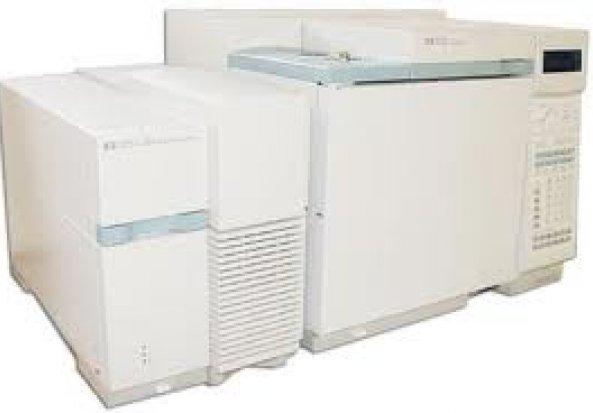 Agilent 5973 MSD Gas Chromatograph-Mass Spectrometer (GC-MS) Gas Chromatograph (GC)