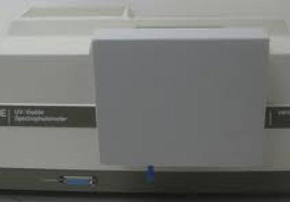 Varian Cary 3E UV/Vis Spectrometer UV-VIS-NIR spectrophotometer unit