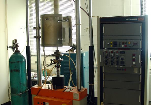 Instron 1361 Servo Electric Test System