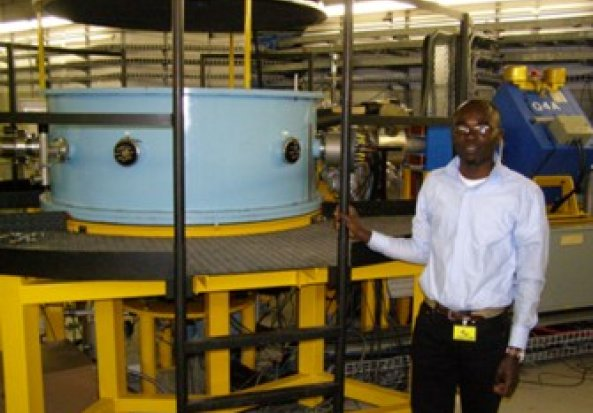 University of Maryland 1.5 m Diameter A-line Scattering Chamber
