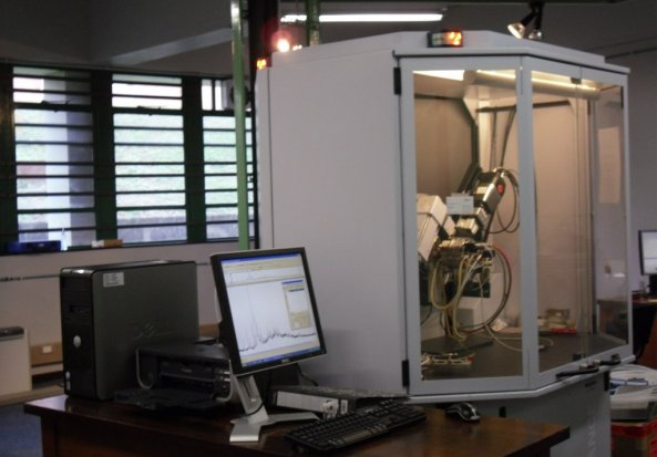 Bruker D8 Advanced with an Anton Paar XRK900 Reaction Cell X-ray Diffractometer (XRD)