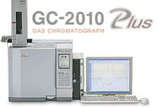 Shimadzu GC2010 Gas Chromatograph-Mass Spectrometer (GC-MS) Gas Chromatograph (GC)