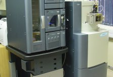 Waters Acquity UPLC with a SYNAPT G1 4000kDa QTOF Liquid Chromatograph (LC)