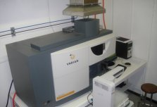 Varian 710-ES Spectrometer Inductively Coupled Plasma Spectrometer (ICP)